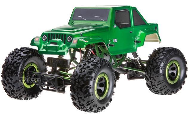 Crawler HSP 1:10 Pangolin 4 ruedas direccionales Jeep Verde-1
