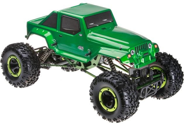 Crawler HSP 1:10 Pangolin 4 ruedas direccionales Jeep Verde-2