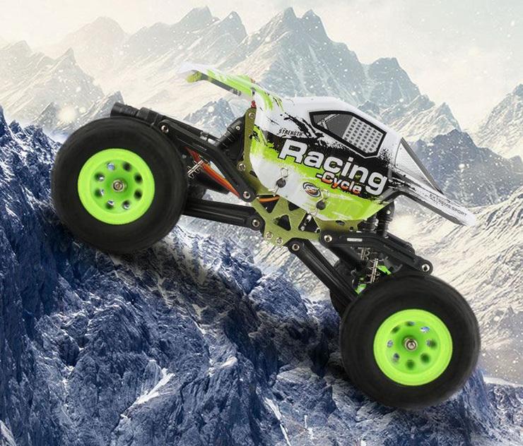 WLtoys 24438 1/24 4WD Rock Crawler RC Coche RTR 2.4GHz