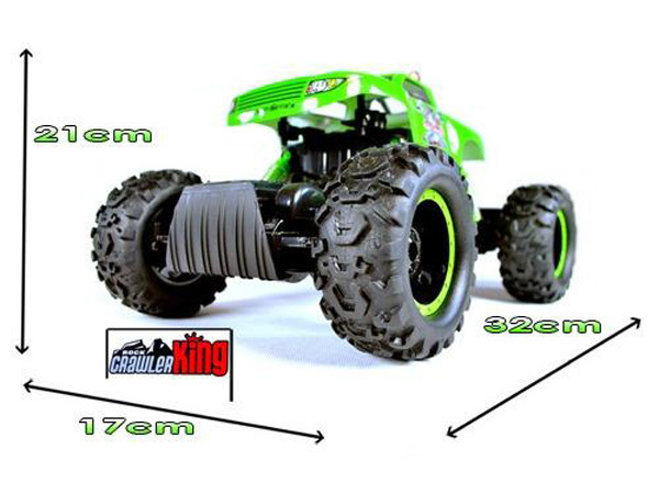 Rock Crawler escalador 1:12 radio control 4WD05 COLOR ROJO-5