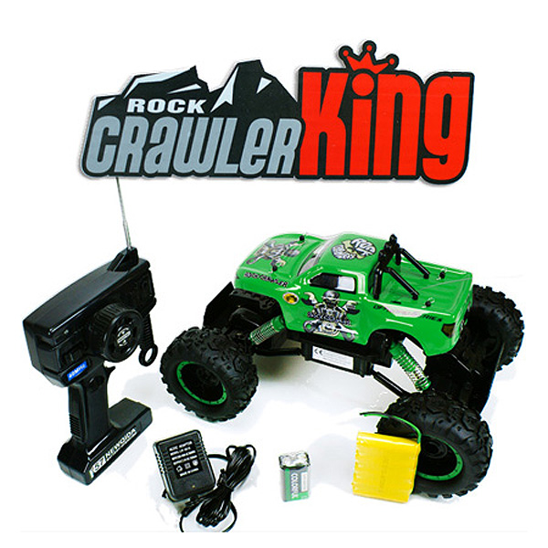 Rock Crawler escalador 1:12 radio control 4WD05 COLOR ROJO-2