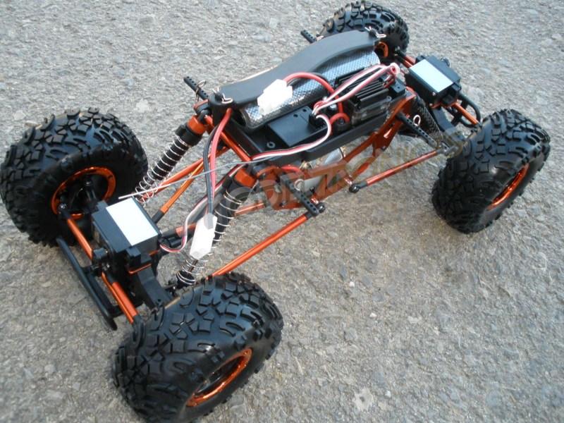 Crawler HSP 1:10 Pangolin 4 rueda direccionales Sport VERDE-10