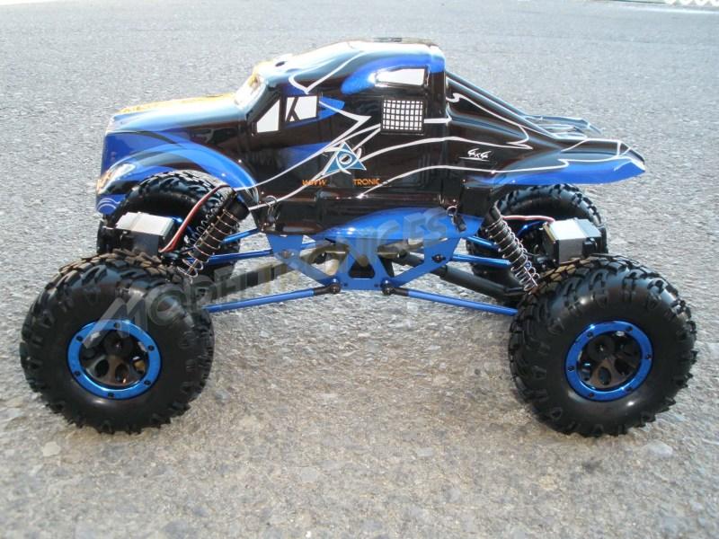 Crawler HSP 1:10 Pangolin 4 ruedas direccionales ROJO CAMION-0