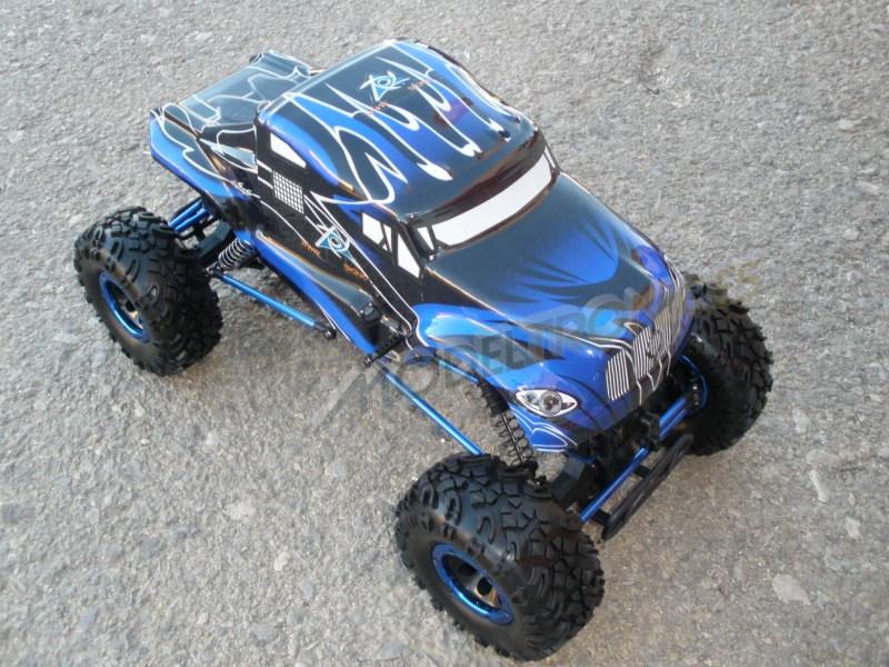 Crawler HSP 1:10 Pangolin 4 ruedas direccionales ROJO CAMION-1