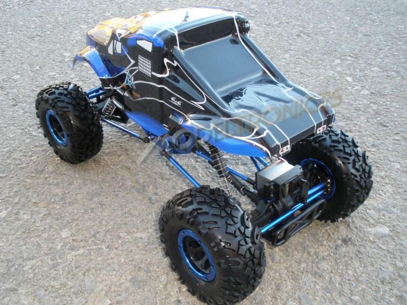 Crawler HSP 1:10 Pangolin 4 ruedas direccionales ROJO CAMION-4