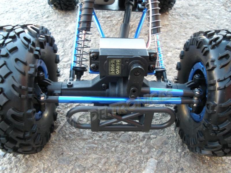 Crawler HSP 1:10 Pangolin 4 ruedas direccionales AZUL CAMION-8