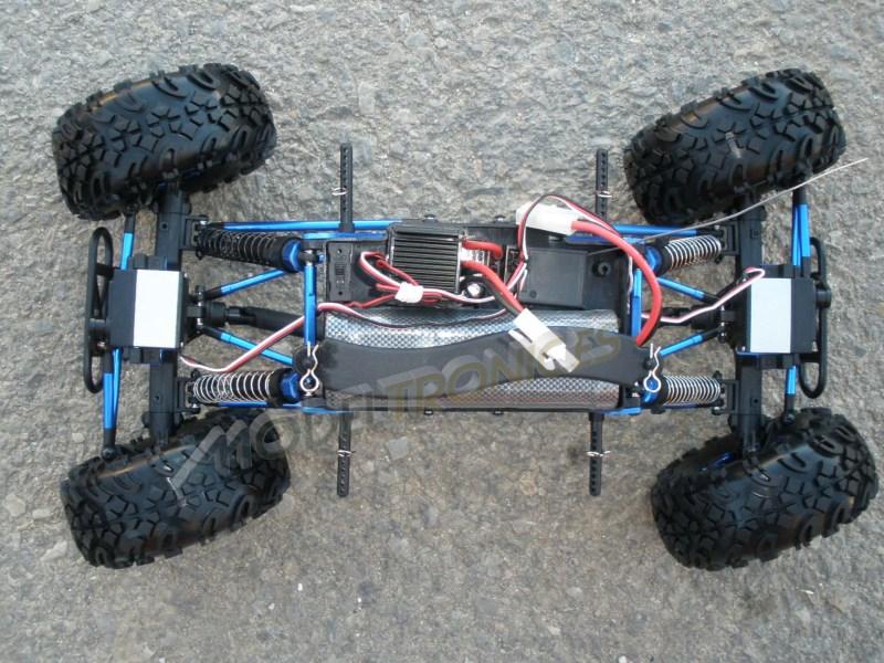 Crawler HSP 1:10 Pangolin 4 ruedas direccionales AZUL CAMION-7