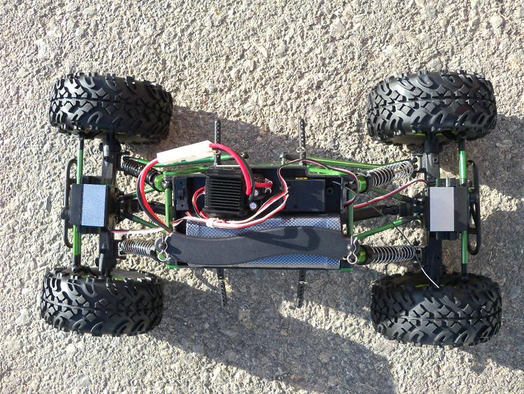 Crawler HSP 1:10 Pangolin 4 rueda direccionales Sport VERDE-6