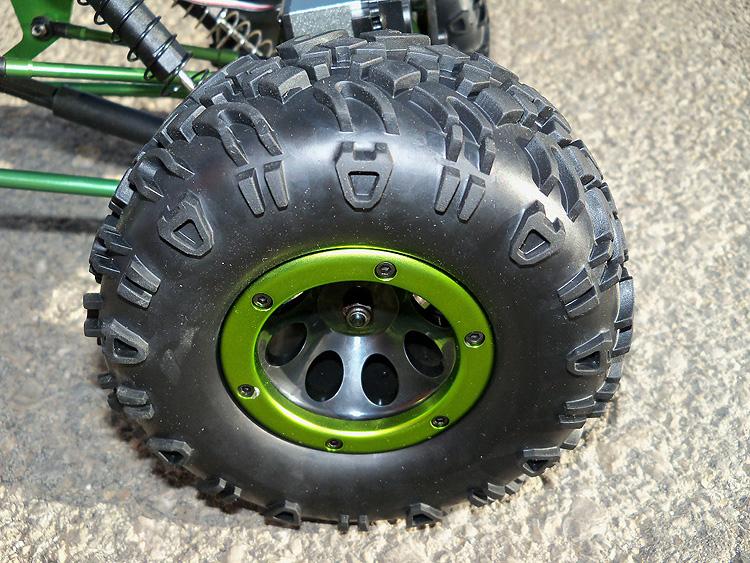 Crawler HSP 1:10 Pangolin 4 rueda direccionales Sport VERDE-5