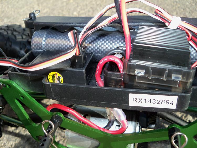 Crawler HSP 1:10 Pangolin 4 rueda direccionales Sport VERDE-7