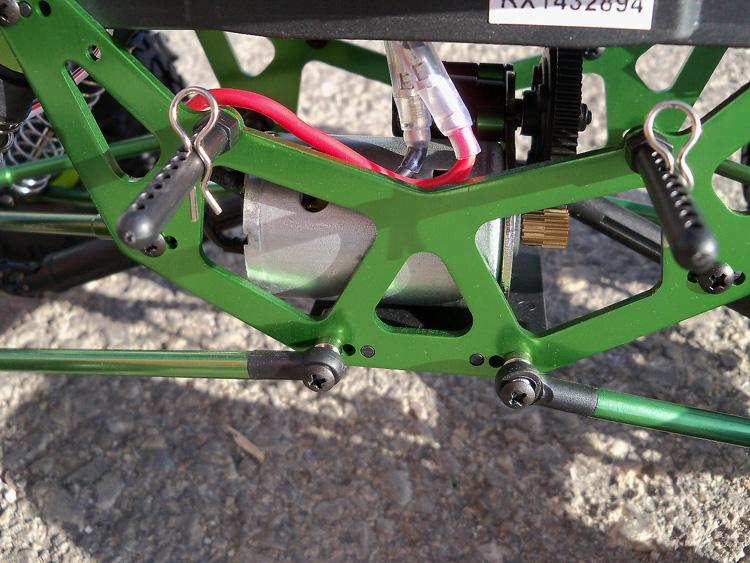 Crawler HSP 1:10 Pangolin 4 rueda direccionales Sport VERDE-9