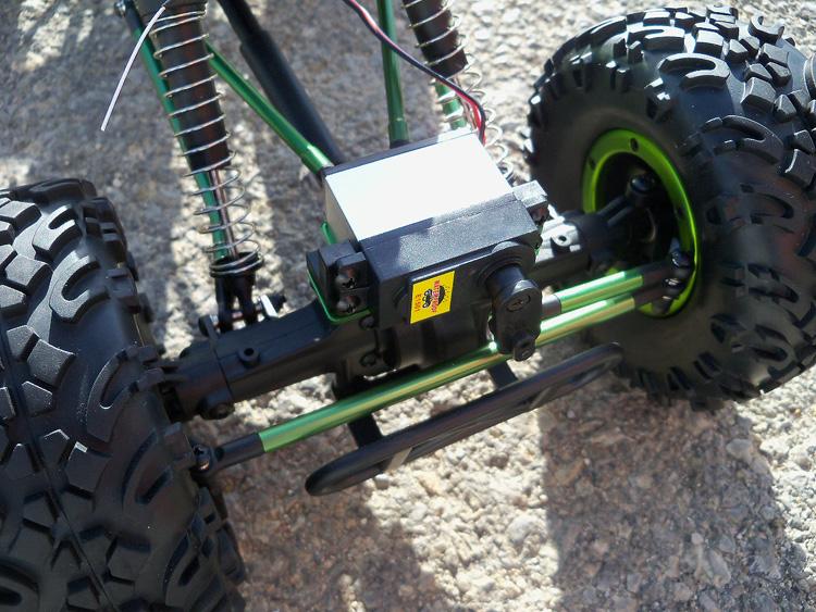 Crawler HSP 1:10 Pangolin 4 rueda direccionales Sport VERDE-8