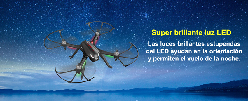 drone bugs 3 con Motores Brushless Soporta Gopro