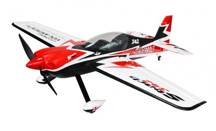 Resultado de imagen de Avión 3D Sbach 342 Thunderbolt Volantex RTF