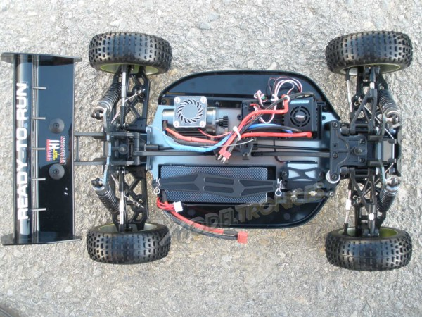 [TOP Li-Po] BUGGY 1:8 Planet Brushless LIPO EDITION VERDE-4