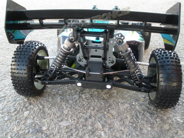 [TOP Li-Po] BUGGY 1:8 Planet Brushless LIPO EDITION VERDE-5