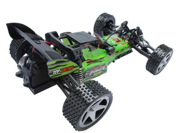 L959 WLtoys coche buggy 1:12 con batería LIPO y emisora 2.4GHz. VERDE-7