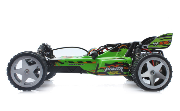 L959 WLtoys coche buggy 1:12 con batería LIPO y emisora 2.4GHz. VERDE-5