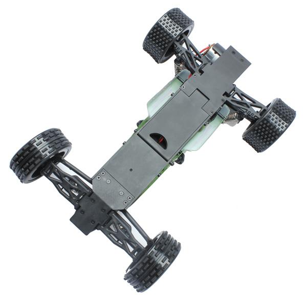 L959 WLtoys coche buggy 1:12 con batería LIPO y emisora 2.4GHz. VERDE-6