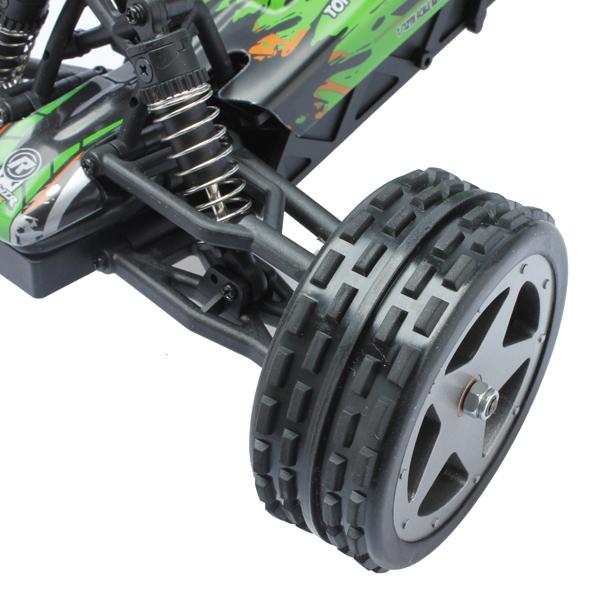 L959 WLtoys coche buggy 1:12 con batería LIPO y emisora 2.4GHz. VERDE-8