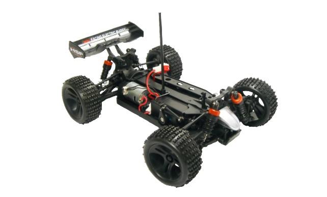 Mini Buggy 4x4 eléctrico HSP 1:18 Eidolon RTR 2.4 GHz. AZUL-8