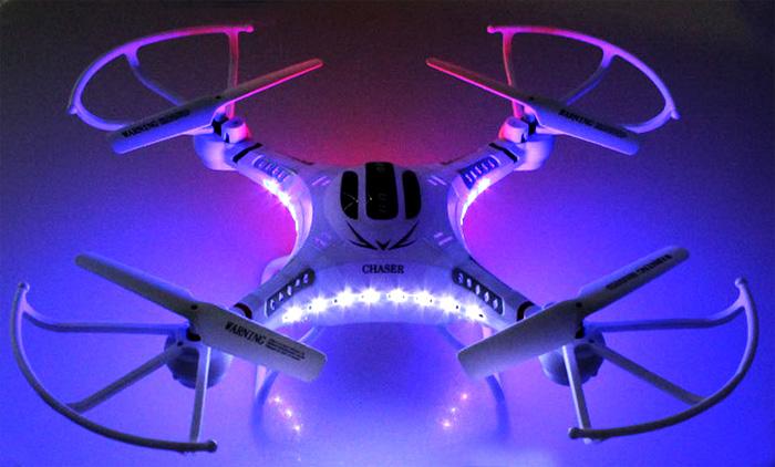 Dron FPV DFD F183D de 5CH GYRO 6 EJES en 2.4 GHz. JJRC H8D-8-13