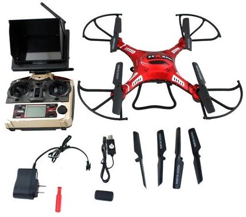 Dron FPV DFD F183D de 5CH GYRO 6 EJES en 2.4 GHz. JJRC H8D-4