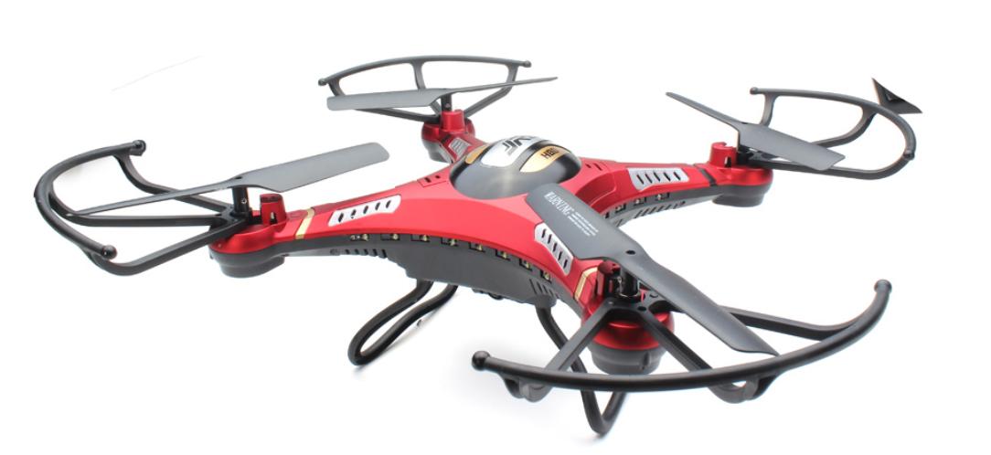 Dron FPV DFD F183D de 5CH GYRO 6 EJES en 2.4 GHz. JJRC H8D-1