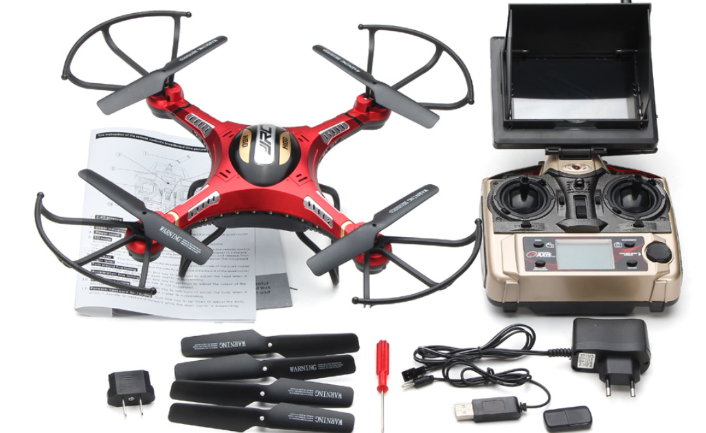 Dron FPV DFD F183D de 5CH GYRO 6 EJES en 2.4 GHz. JJRC H8D-3