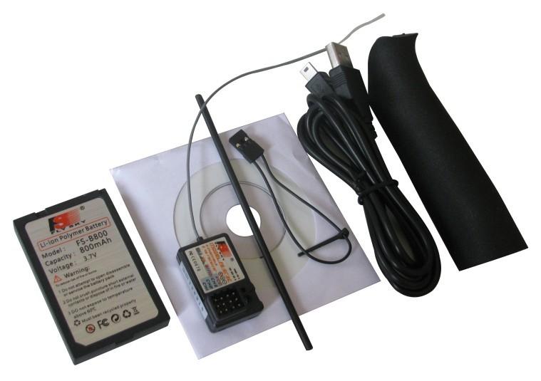 Emisora FS-GT2B 2.4 GHz. 3 canales-3