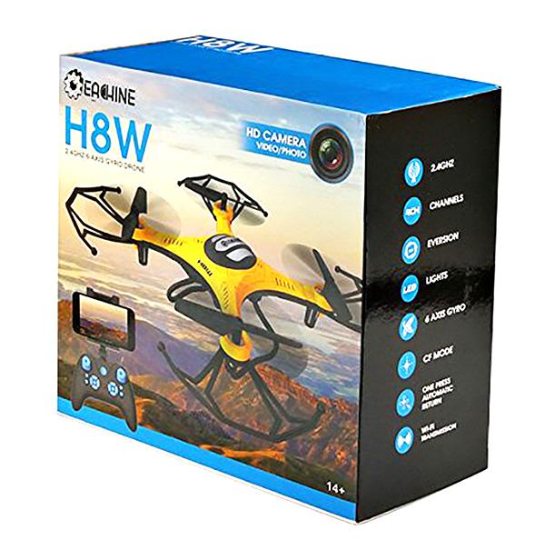 Dron Eachine H8W Amarillo