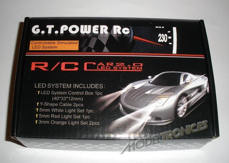 Sistema de luces LED's para el coche radio control-0