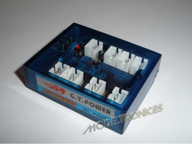 Sistema de luces LED's para el coche radio control-2