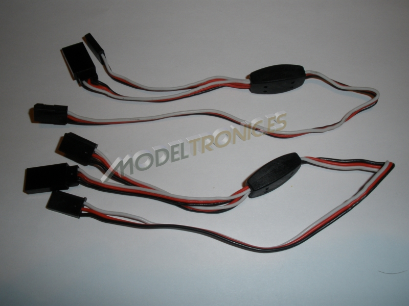 Sistema de luces LED's para el coche radio control-3