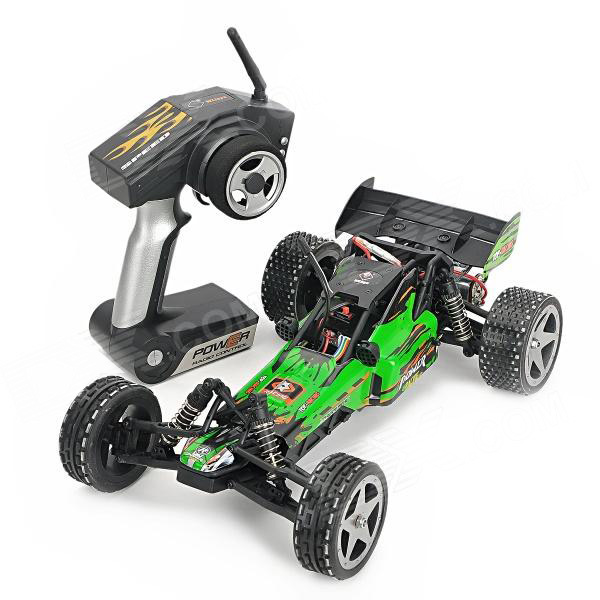 L959 WLtoys coche buggy 1:12 con batería LIPO y emisora 2.4GHz. VERDE-2