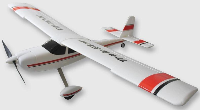 Avión entrenador gigante 1400mm TRAINSTAR RTF 2.4Ghz ROJO-1