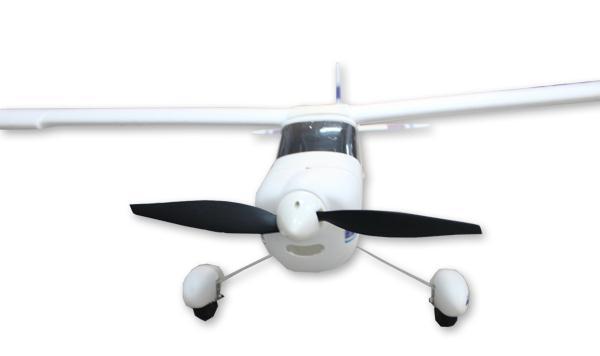 Avión entrenador gigante 1400mm TRAINSTAR RTF 2.4Ghz ROJO-3