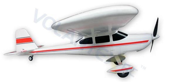 Avión entrenador gigante 1400mm TRAINSTAR RTF 2.4Ghz ROJO-4