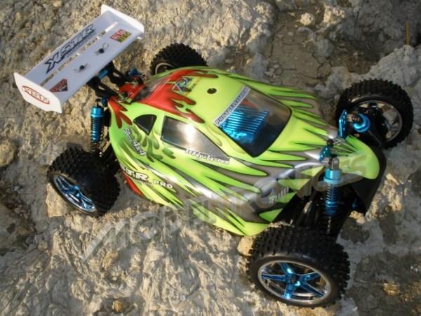 Buggy eléctrico 1:10 XSTR de HSP en 2.4Ghz Verde-0