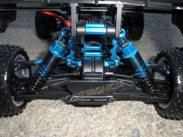 [TOP Li-Po] Buggy 1:10 XSTR PRO LIPO EDITION BRUSHLESS Naranja-Plata-11
