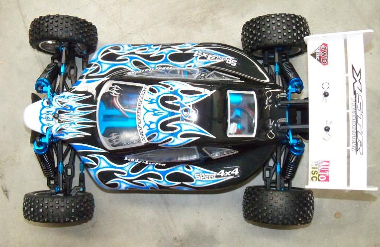 [TOP Li-Po] Buggy 1:10 XSTR PRO LIPO EDITION Azul-blanco-3