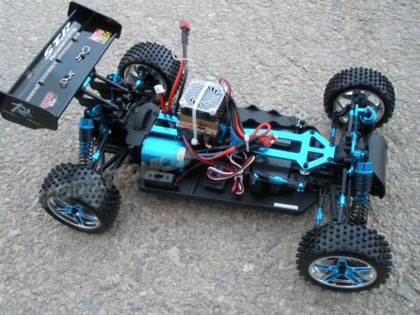 [TOP Li-Po] Buggy 1:10 XSTR PRO LIPO EDITION Azul-blanco-5