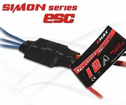 Pack 4 x Variadores brushless Emax Simon 12A con BEC 1A/5V