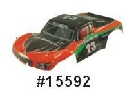 15592 - Carrocería RALLY MONSTER 1:10 NARANJA