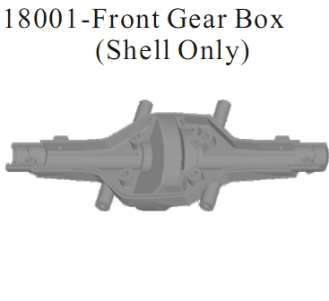 18001 - Front Gear Box(Shell Only)