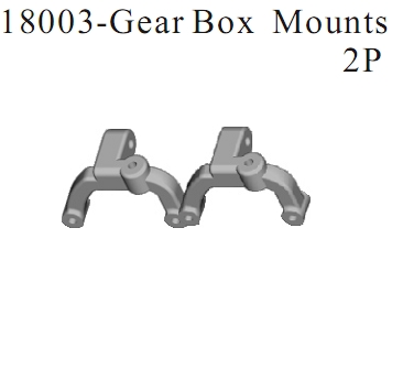 18003 - Gear Box Mounts 2P