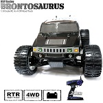 Monster 4x4 1:10 Brontosaurus HSP 2.4GHz LIPO EDITION Hummer negro