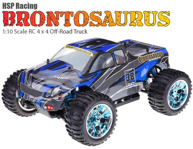 [TOP Li-Po] MONSTER 1:10 BRONTOSAURUS PRO LIPO EDITION AZUL-NEGRO-0