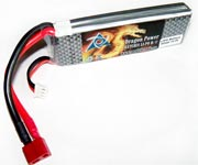 Batería Li-Po Dragon Power 2S 7,4v 2.200 mAh 25C 10428 10428-C2 10428-2 10428-A2