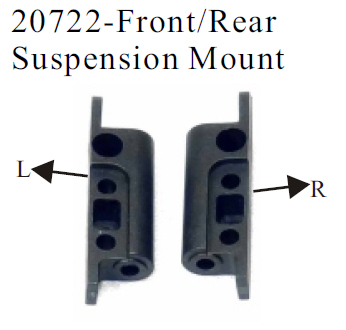 20722 - Front/Rear Suspension Mount